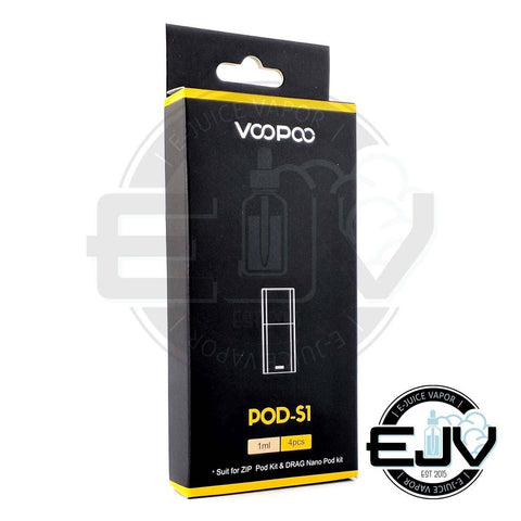 VOOPOO POD-S1 Replacement Pods - (4 Pack) Replacement Pods VOOPOO