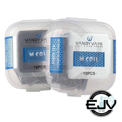 Vandy Vape Kylin M Replacement Mesh Strips - (10 Pack) Replacement Coils Vandy Vape