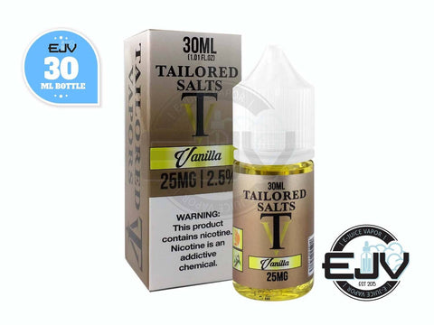 Vanilla Tobacco by Tailored Salts 30ml