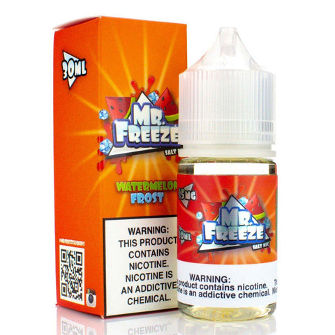 Watermelon Frost by Mr. Freeze Salt Nic 30ml Nicotine Salt Mr. Freeze Salt Nic