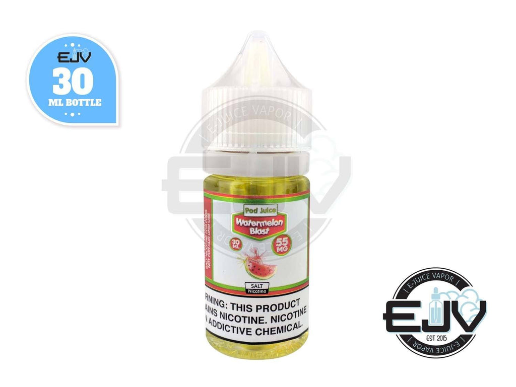 Watermelon Blast SaltNic by Pod Juice 30ml Nicotine Salt Pod Juice