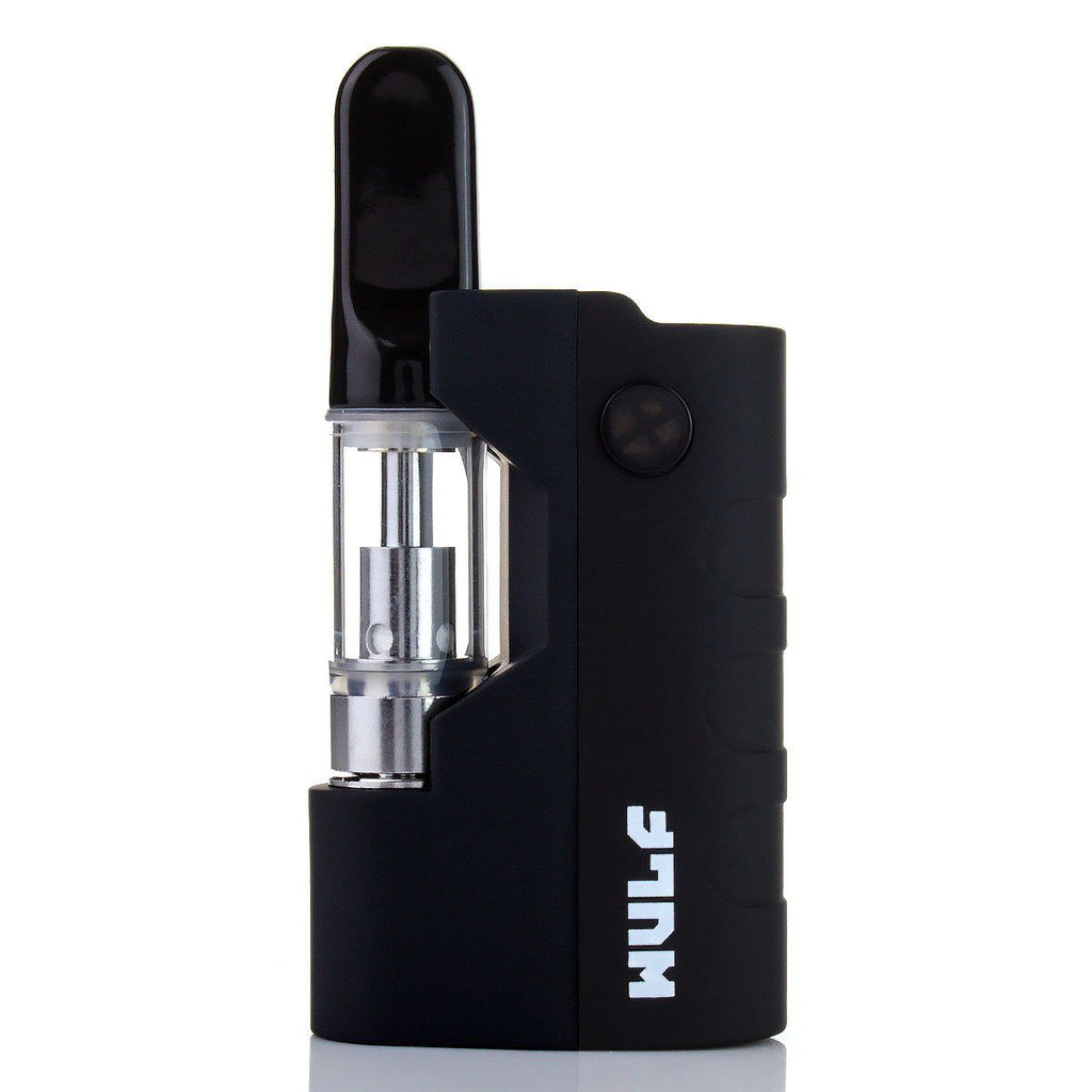 Wulf Mods Micro Plus 3-Temp Cartridge Vaporizer Concentrate Vaporizers Wulf Mods Black