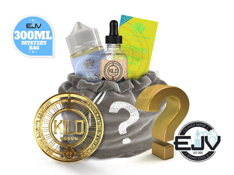 Kilo E-Liquids Mystery Bag 300ml E-Juice Goodie E-Liquid Bag