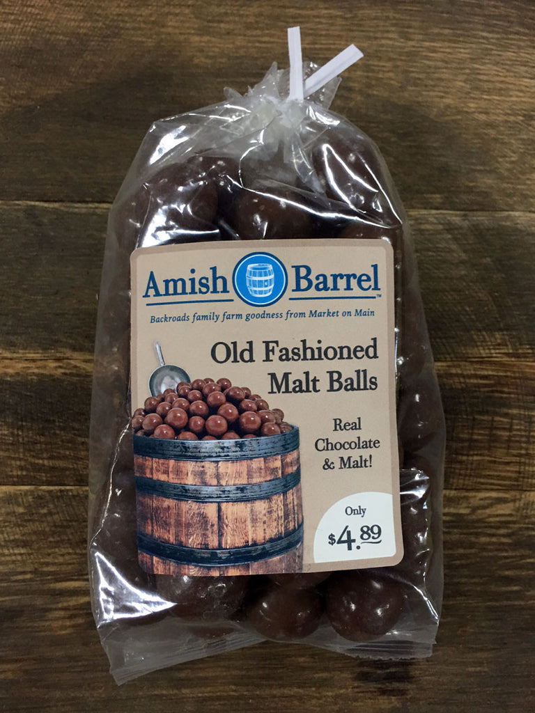 Old Fashioned Malt Balls