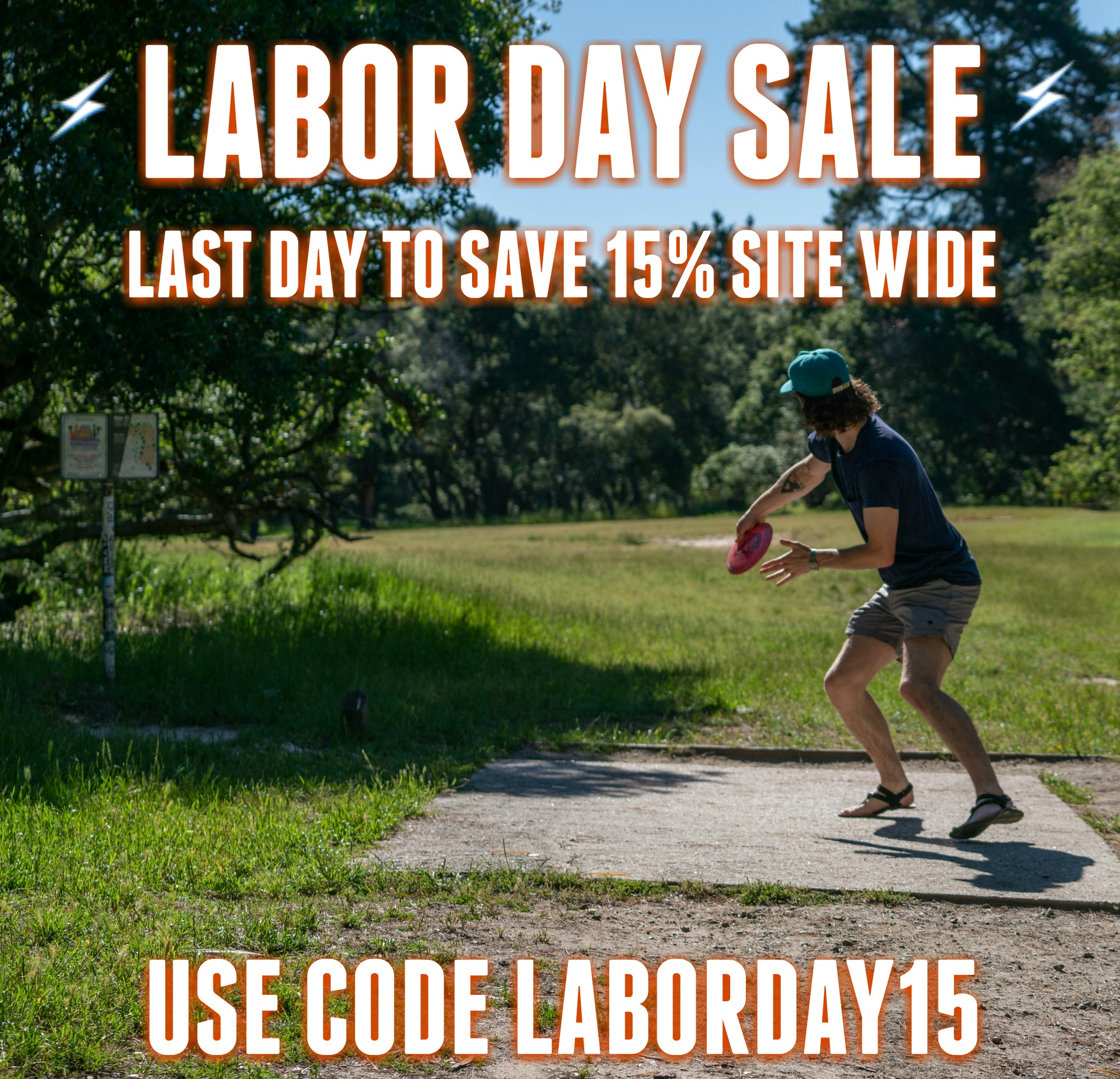 LAST DAY TO SAVE 15% SITE WIDE