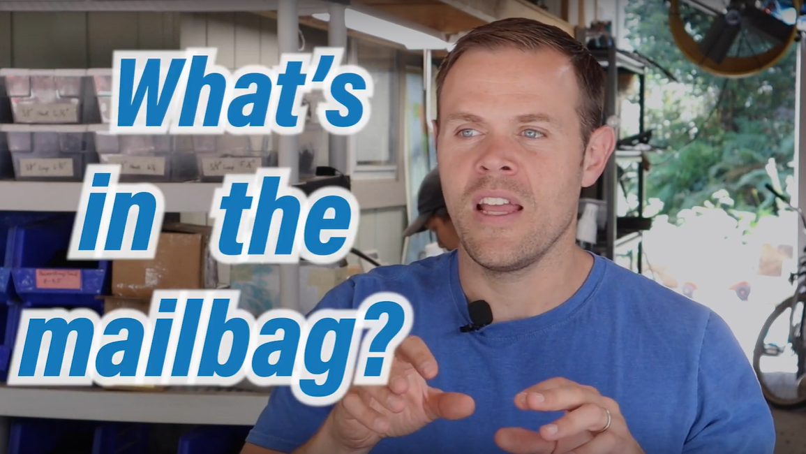 An Awesome Product- What's in This Week's Mailbag?