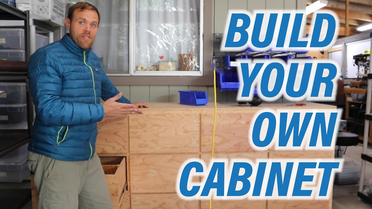 New Video! Josh Builds a New Cabinet for the Shamma Shop!