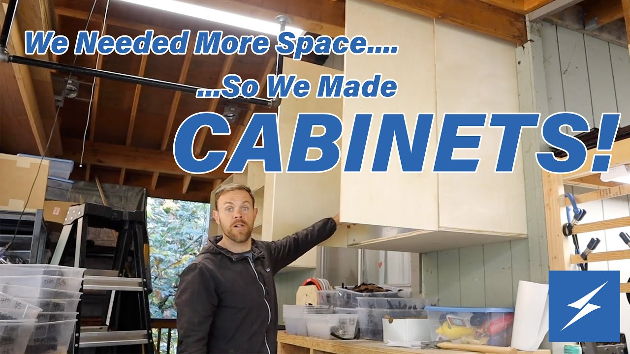 Making Some Cabinet Space- New Video!