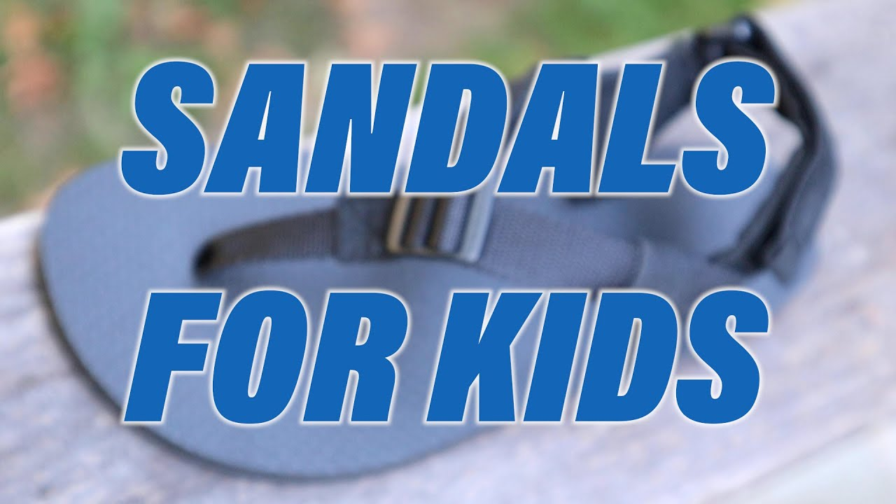 Introducing Kid's Sandals!
