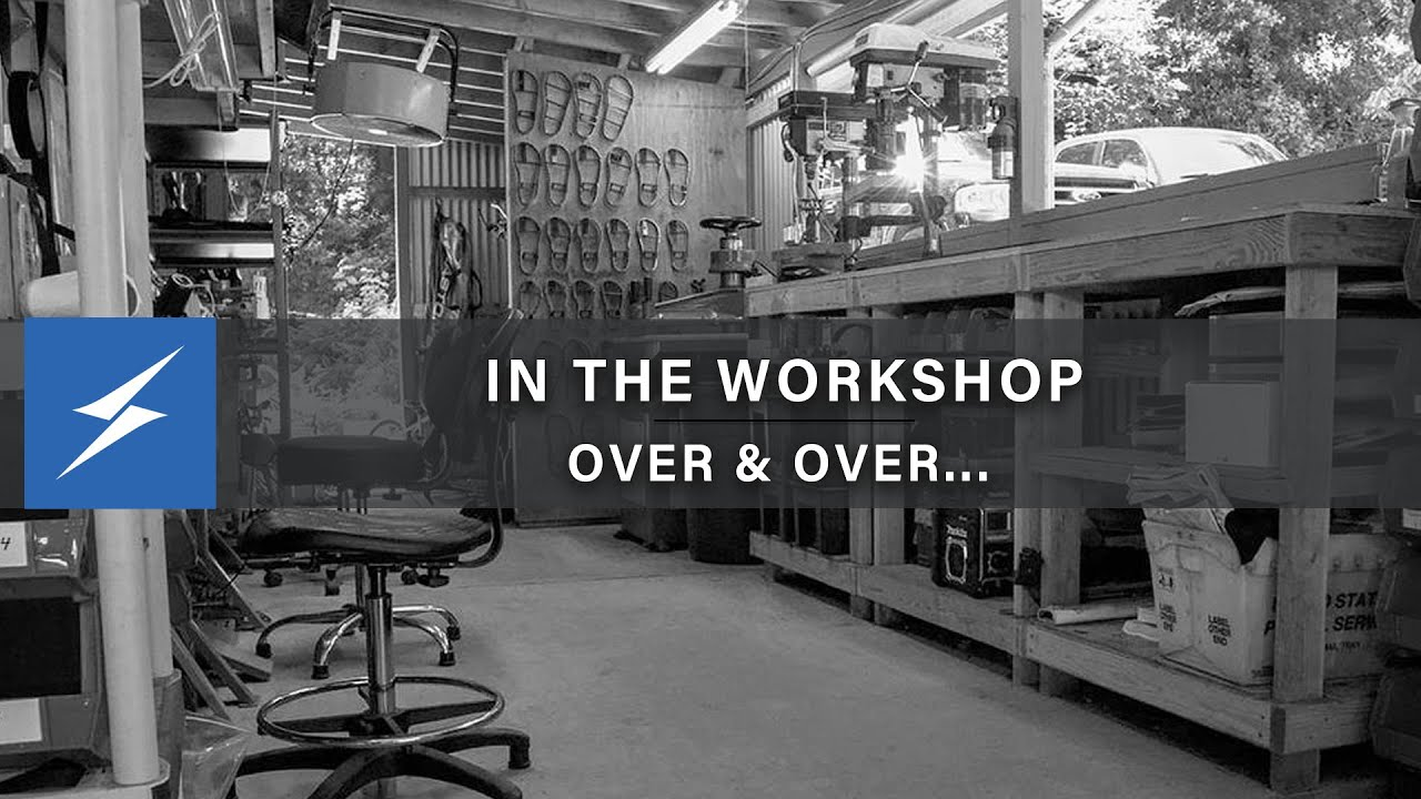 Over and Over and Over...New Video in the Workshop!