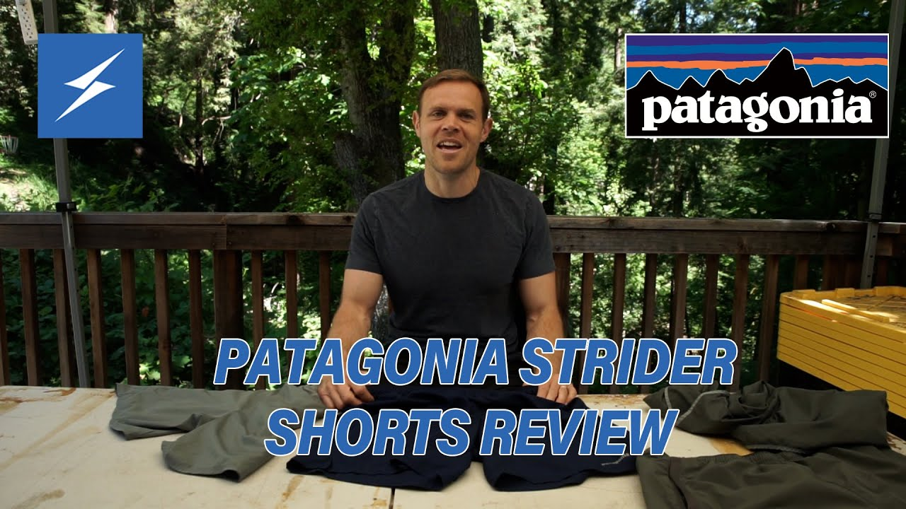 New Video! Patagonia Strider Shorts Review