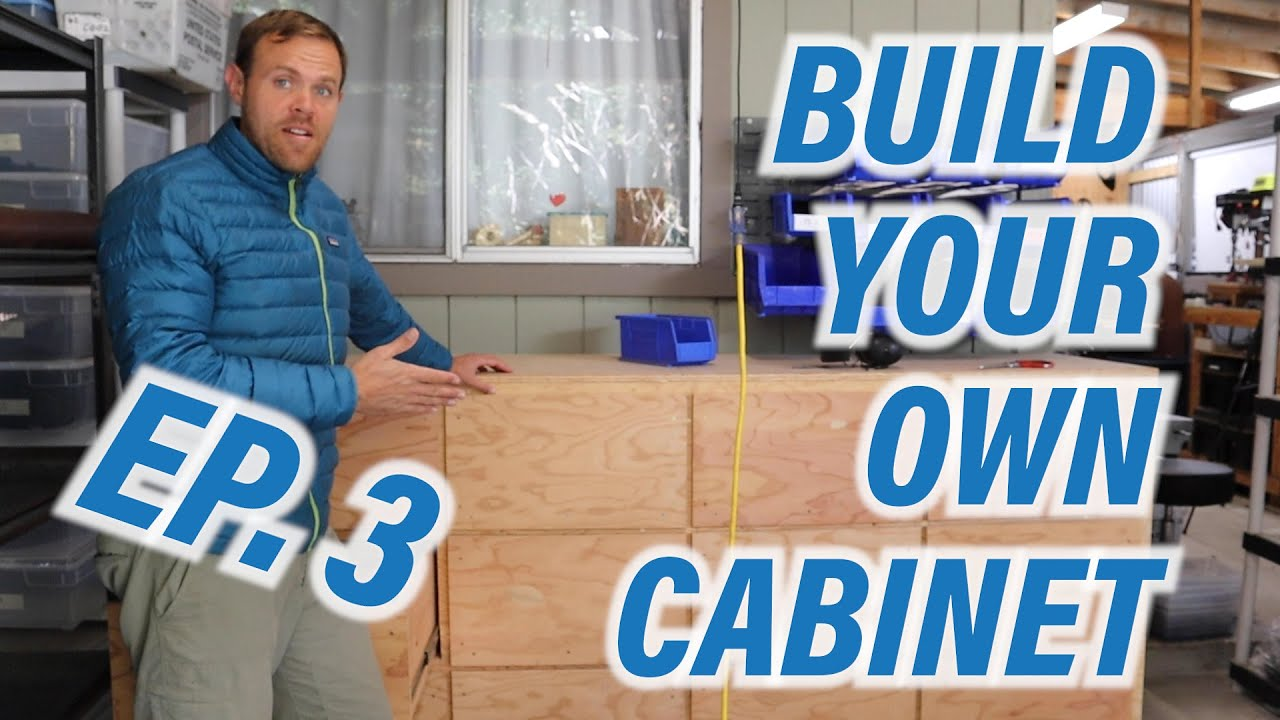 Check Out this New Video! Build your Own Cabinet-Ep 3!