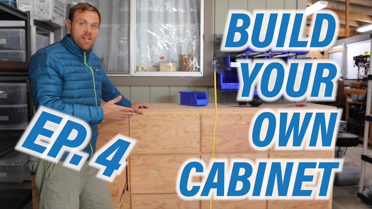 DIY Cabinet-Episode 4!