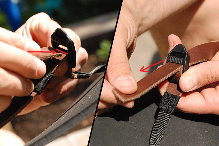 Leather Lacing Guide - Step 15