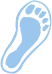 Footbed icon