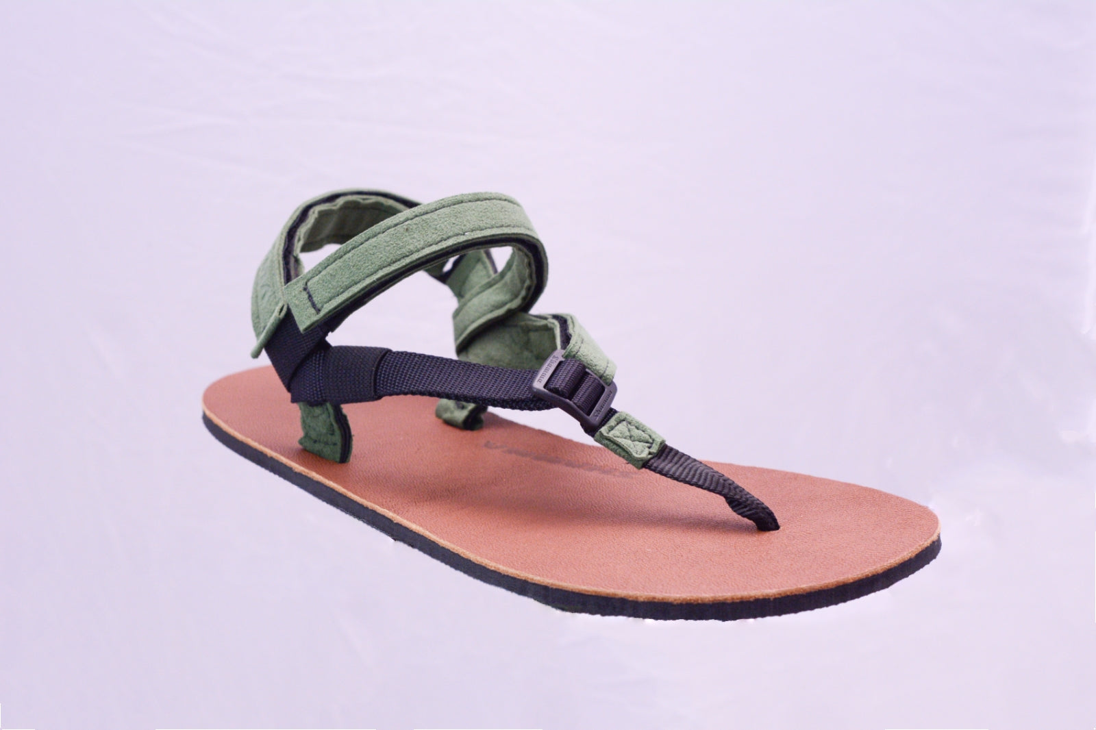 Limited Edition Moss Green Elite Sandals- Leather Edition