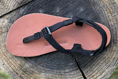 Shamma Mountain Goats Leather Sandals top view