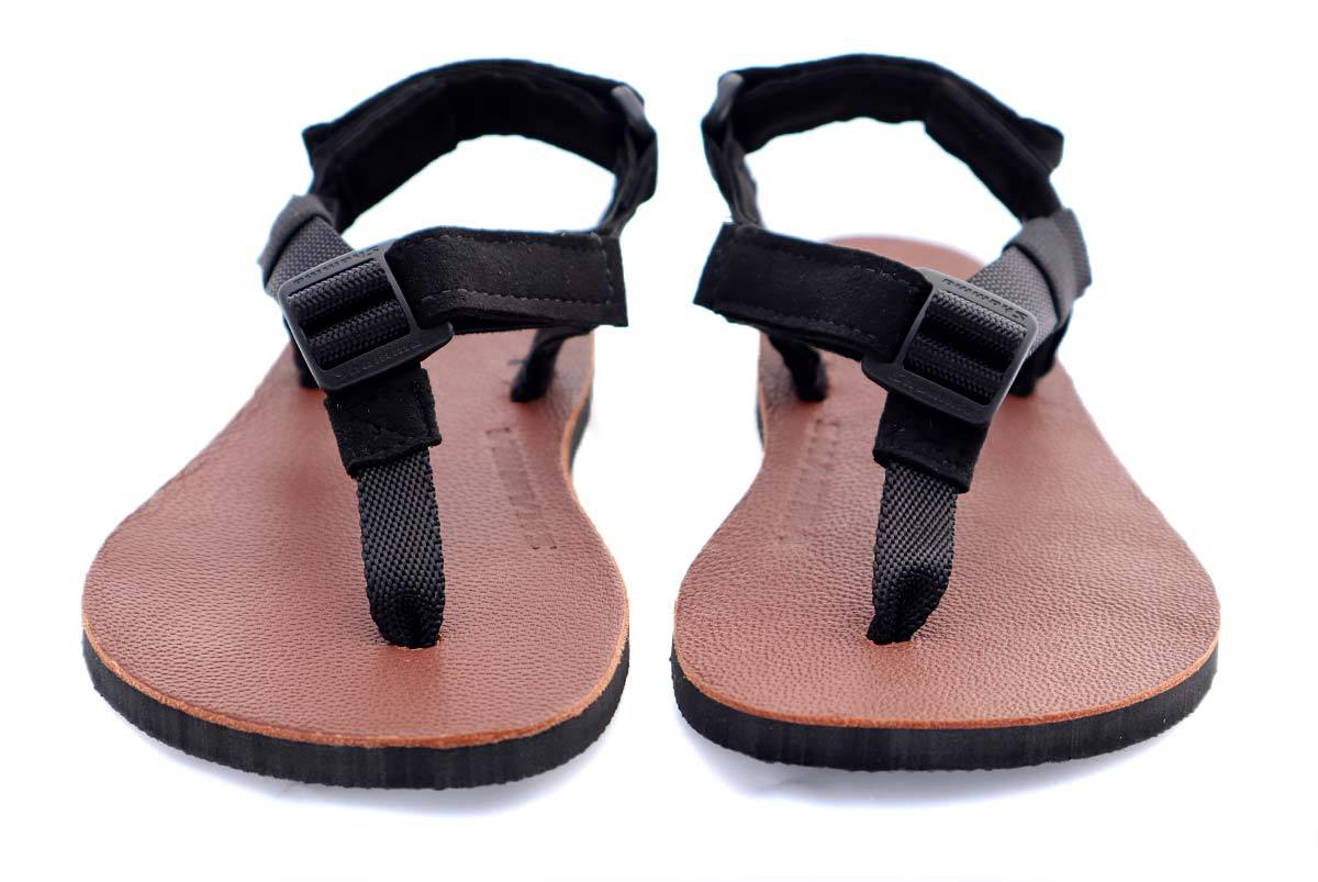 Shamma Little Chargers Leather Edition sandals front view