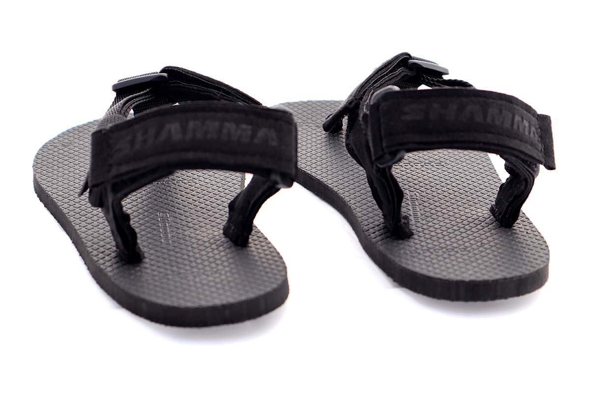 Shamma Little Chargers sandals back view