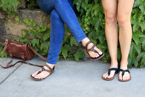 Super Browns sandals paired with friend