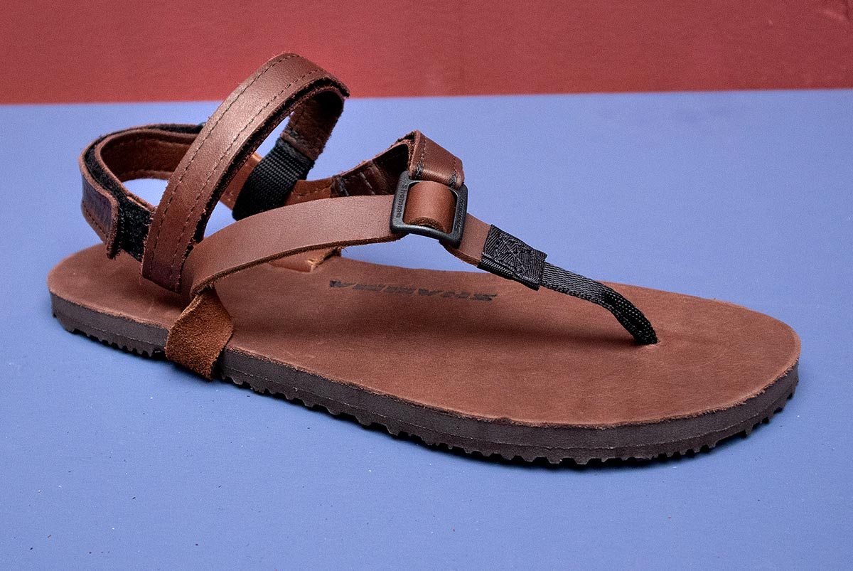 Super Power Straps three quarters on sandals