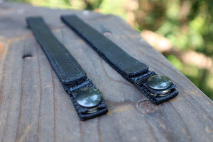 Black Classic Power Straps Closeup