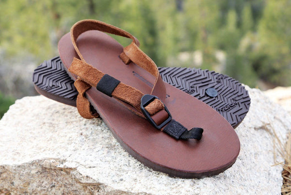 Shamma Old Goats Sandals on Rocks