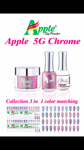 Apple 5G Chrome Dipping Powder 2oz