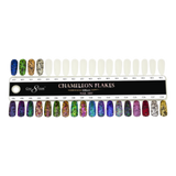 Cre8tion - Foam Display Chameleon Flakes Effect Nail Art 0,5g