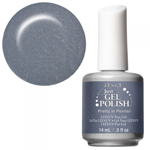 Pretty in Pewter   - IBD Just Gel