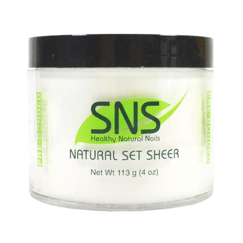 SNS Natural Set Sheer 4oz $80, 16oz $250