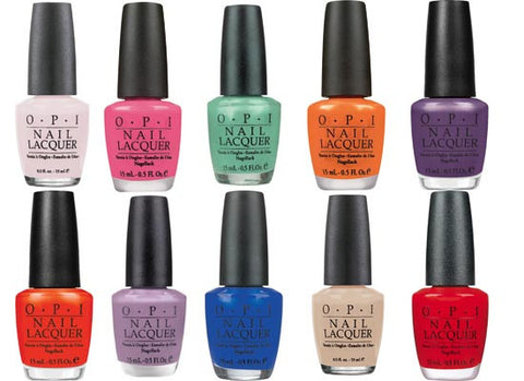 OPI Nail Lacquer.Please give a code like N25,L00,T02 ..... for your order