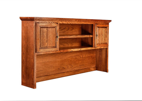 Forest Designs Traditional Oak Hutch for 1055: 74w x 42H x 13D