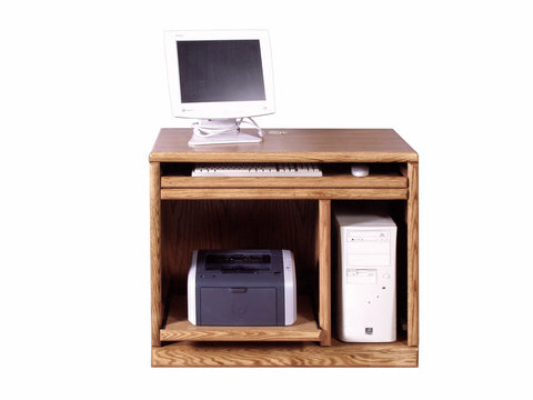 Forest Designs Bullnose Computer Stand: 36W x 30H x 21D