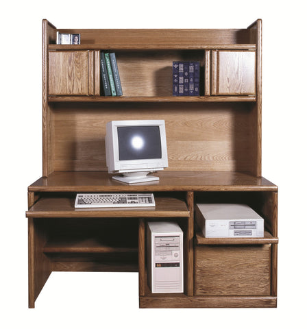 Forest Designs Bullnose Hutch for 1054: 60w x 42H x 13D (Desk Sold Separately)