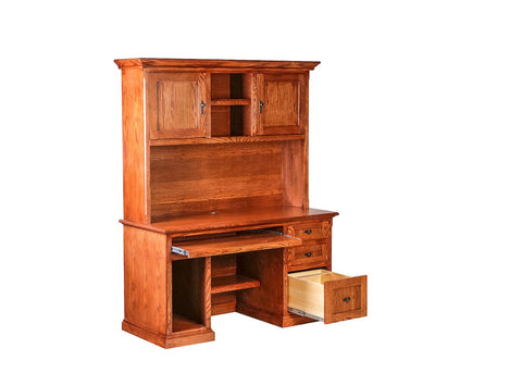 Forest Designs Mission Hutch: 56W X 42H X 13D (Desk Sold Separately-$969)