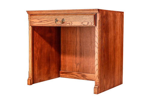 Forest Designs Traditional Oak Desk: 32W x 30H x 24D
