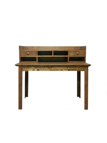 Forest Designs Traditional Laptop Writing Table with Drawers: 48W x 30H x 24D (No Hutch)