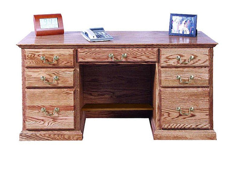 Forest Designs Traditional Desk: 60W x 30H x 24D