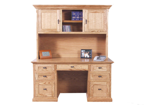 Forest Designs Mission Hutch: 60W x 42H x 13D (No Desk)