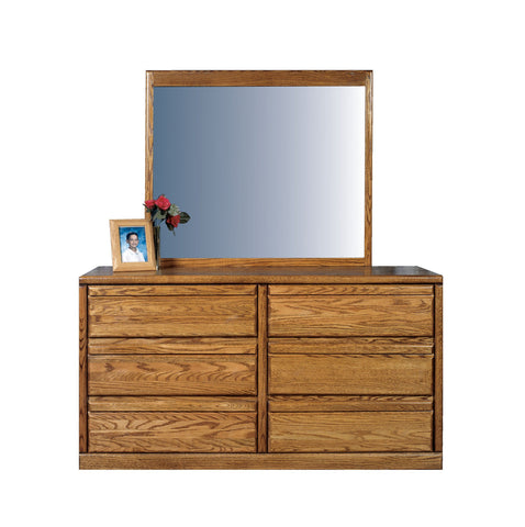 Forest Designs Bullnose Six Drawer Dresser: 60W x 32H x 18D (Mirror Sold Separately)