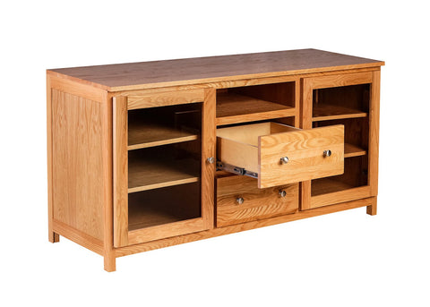 Forest Designs Urban TV Cart w/ Drawers: 62W X 30H X 21D