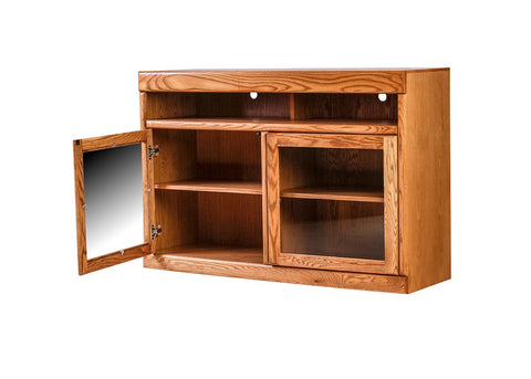 Forest Designs Bullnose TV Cart: 54W X 36H X 18D