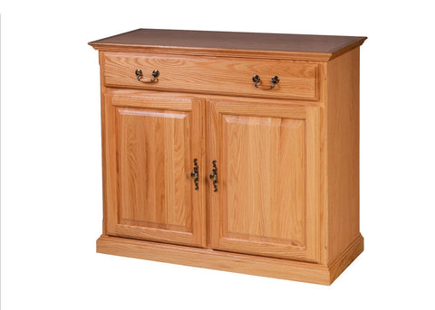 Forest Designs Traditional Oak Buffet: 42W x 36H x 18D