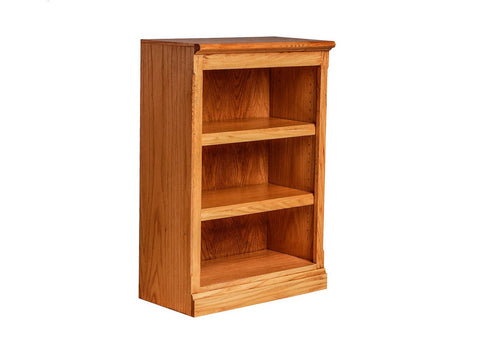 Forest Designs Mission Oak Bookcase: 24W x 13D Choose Your Height