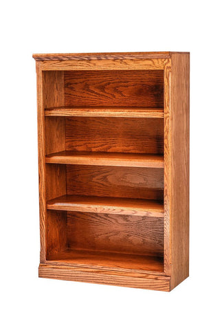 Forest Designs Mission Oak Bookcase: 30W x 13D Choose Your Height