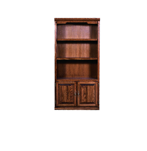 Forest Designs Traditional Bookcase with Lower Doors: 36W X 13D Choose Your Height