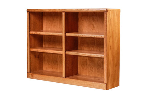 Forest Designs Bullnose Oak Bookcase: 48W x 13D Choose Your Height