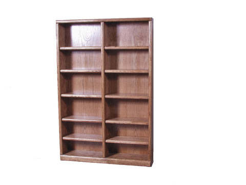 Forest Designs Bullnose Bookcase: 48W x 13D Choose Your Height