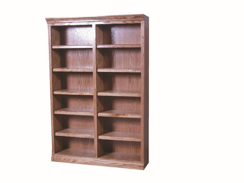 Forest Designs Mission Bookcase: 48W x 13D Choose Your Height